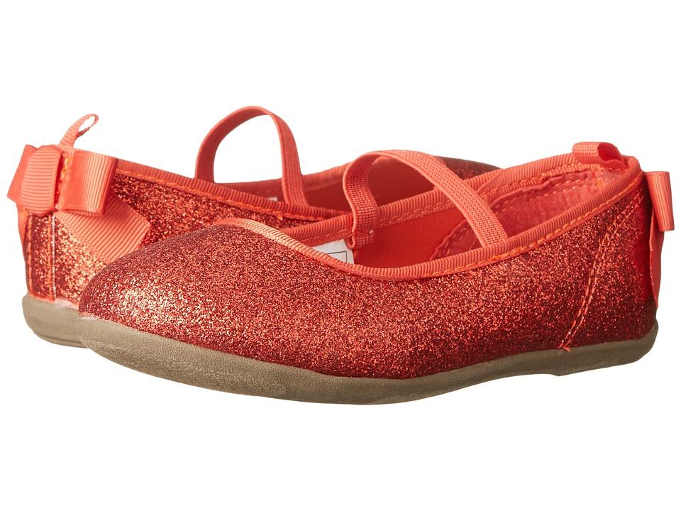 OshKosh - Rosy-G (Toddler/Little Kid) (Red) Girl's Shoes