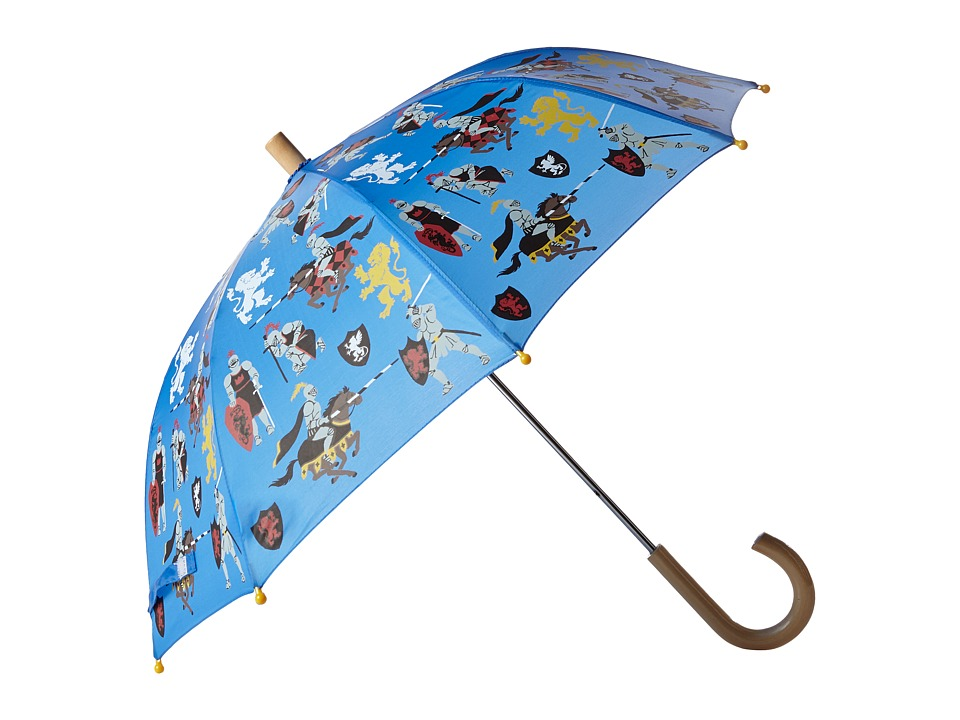 Hatley Kids - Medieval Knights Umbrella (Blue) Umbrella