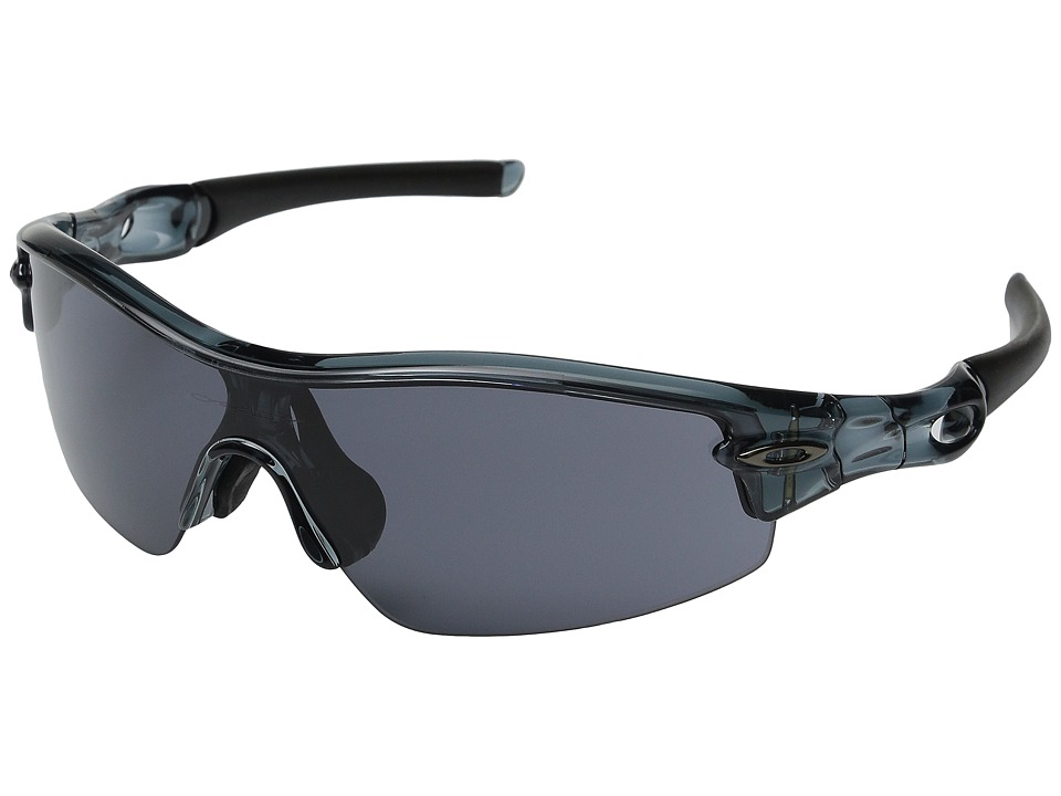 Oakley - (A) Radar Pitch (Crystal Black/Grey) Sport Sunglasses