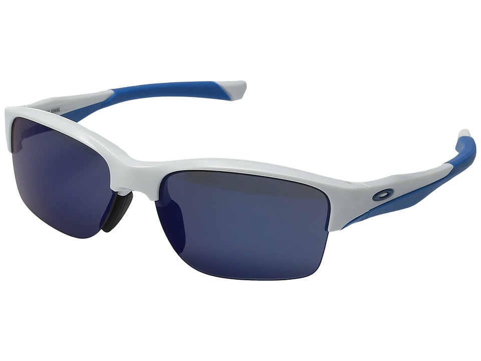Oakley - (A) Halflink (Polished White/Ice Irid) Sport Sunglasses