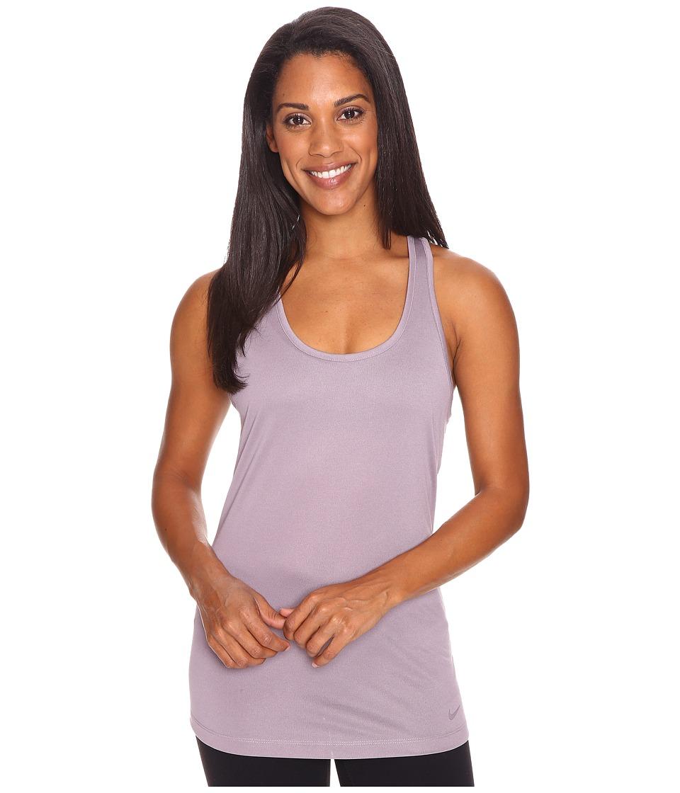 Nike - Dri-FIT Balance Tank Top (Purple Smoke/Purple Smoke) Women's Sleeveless