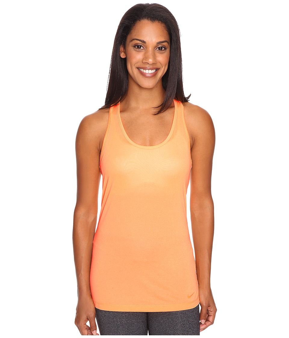 Nike - Dri-FIT Balance Tank Top (Peach Cream/Peach Cream) Women's Sleeveless