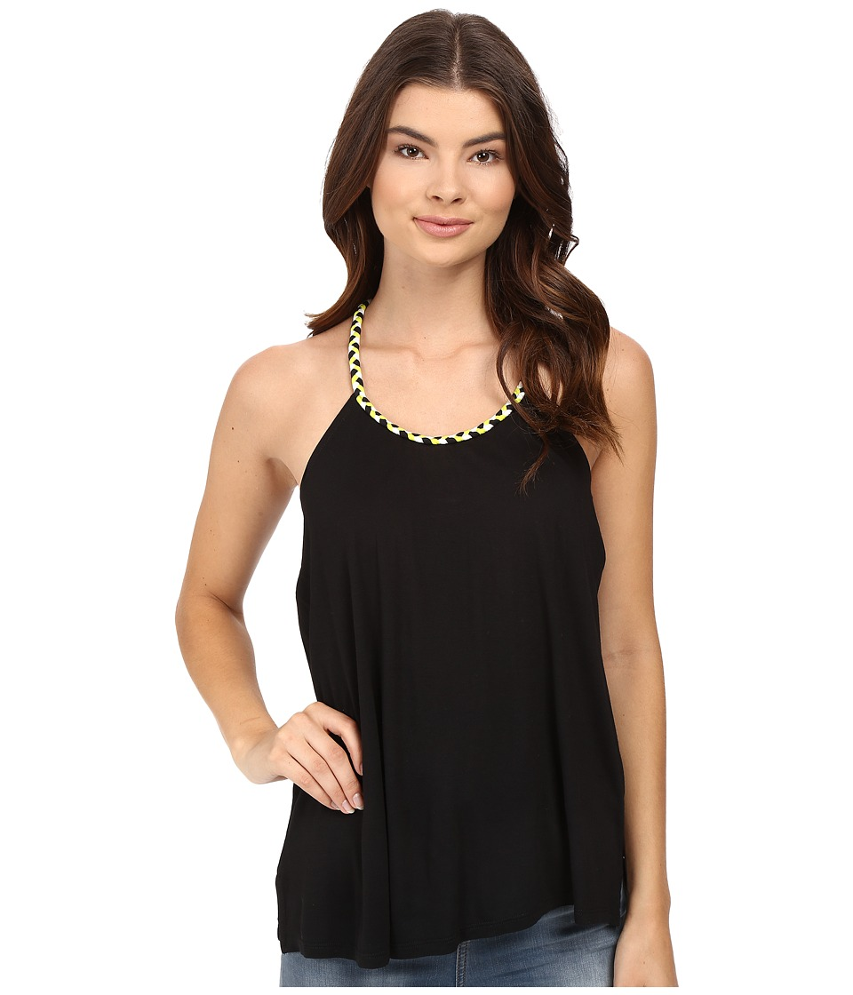 Bench - Puntamango Top (Jet Black) Women's Clothing
