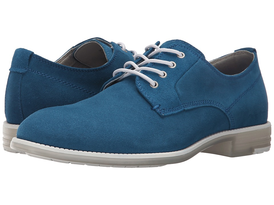 Calvin Klein Jeans - Dwight (Blue Suede/Translucent) Men's Shoes