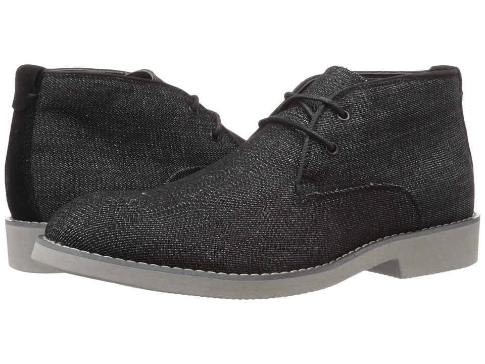Calvin Klein Jeans - Chester (Black/Black Denim/Suede) Men