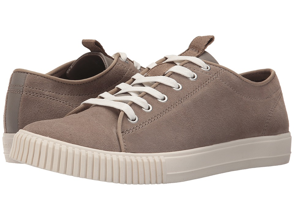 Calvin Klein Jeans - Jerome (Stone/Stone Suede/Canvas) Men's Lace up casual Shoes