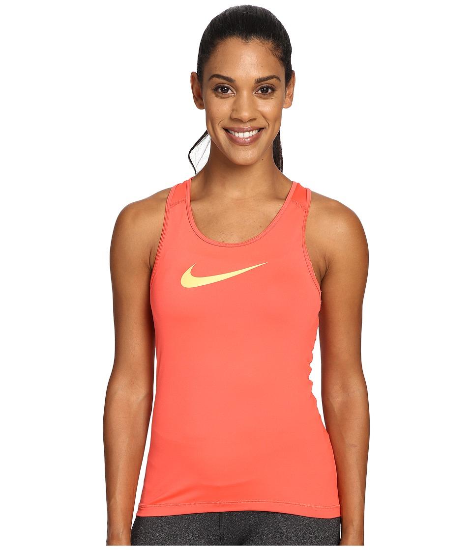 Nike - Pro Cool Training Tank Top (Ember Glow/Peach Cream) Women's Sleeveless