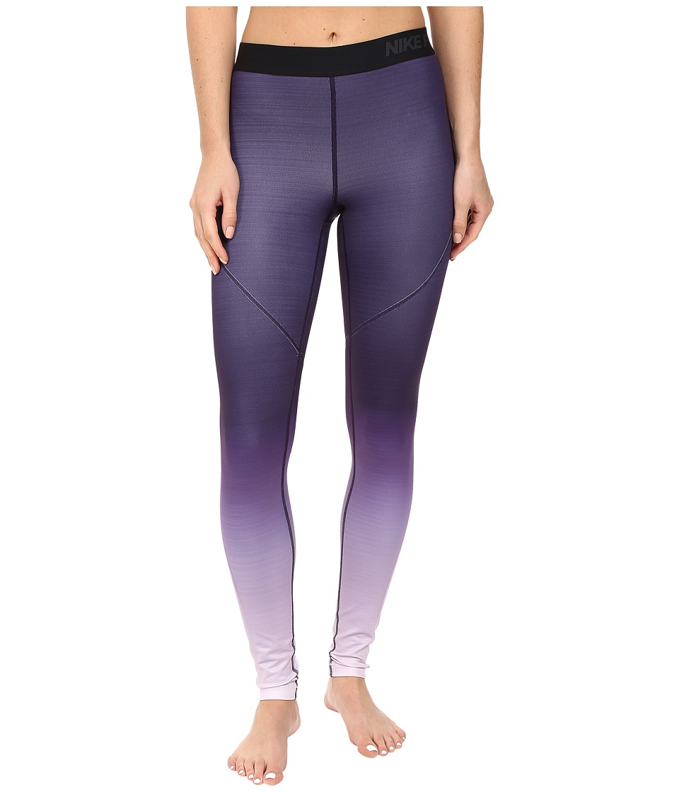 Nike - Pro Hyperwarm Training Tight (Bleached Lilac/Bleached Lilac) Women's Workout