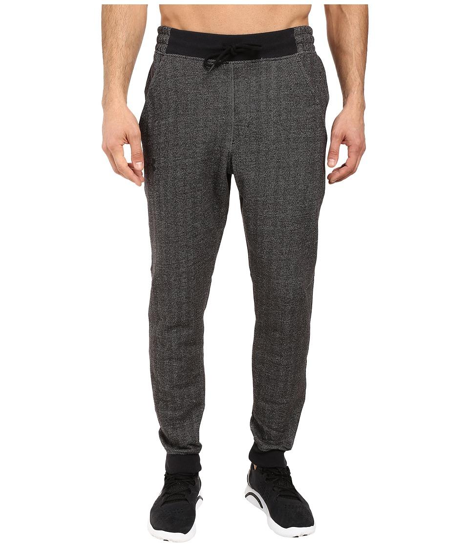 Under Armour - Rival Cotton Novelty Jogger (Asphalt Heather) Men's Clothing