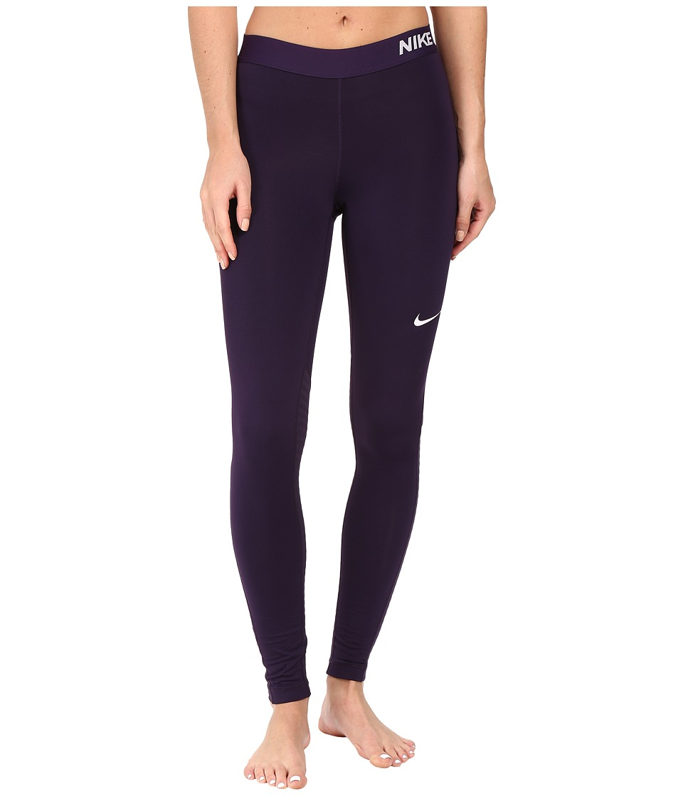 Nike - Pro Warm Training Tight (Purple Dynasty/Bleached Lilac) Women's Workout