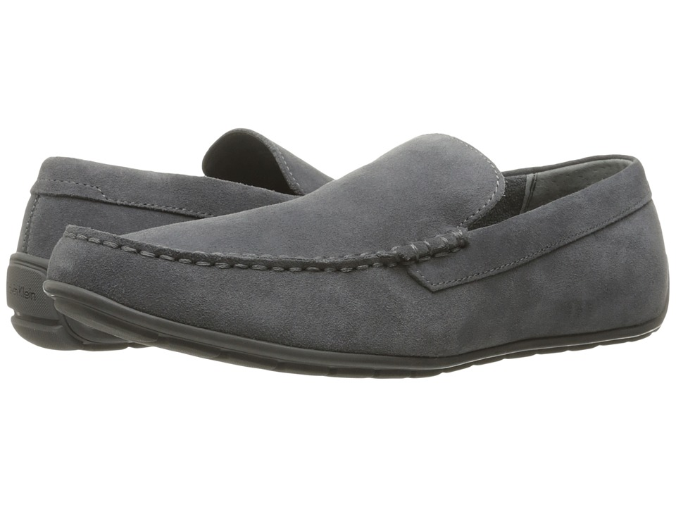 Calvin Klein Isaac (Grey Oily Suede) Men