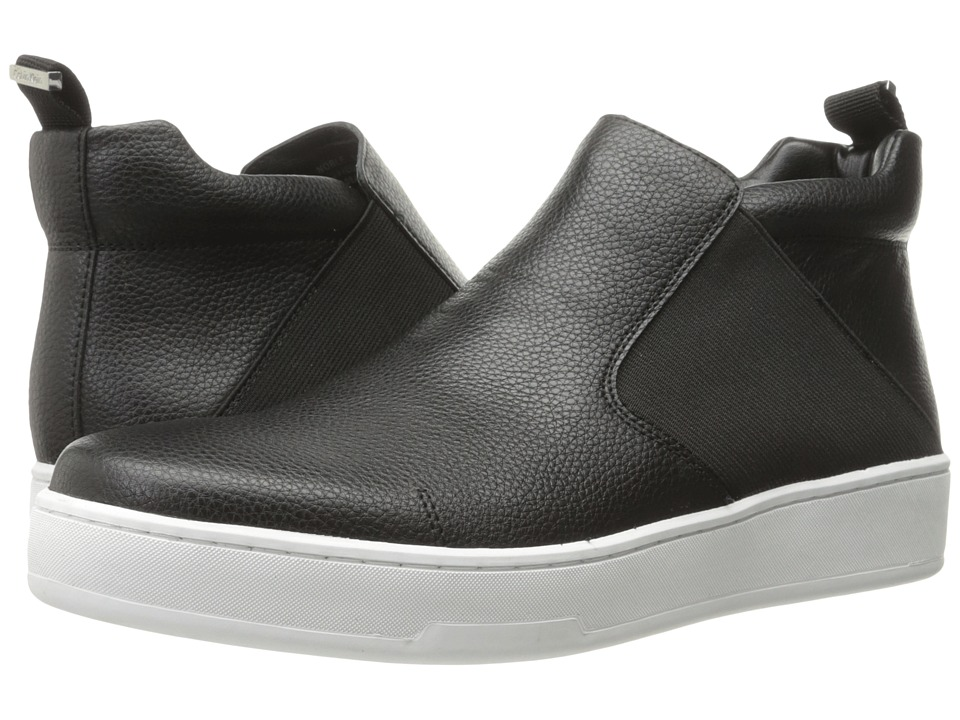 Calvin Klein - Noble (Black Tumbled Leather) Men's Shoes