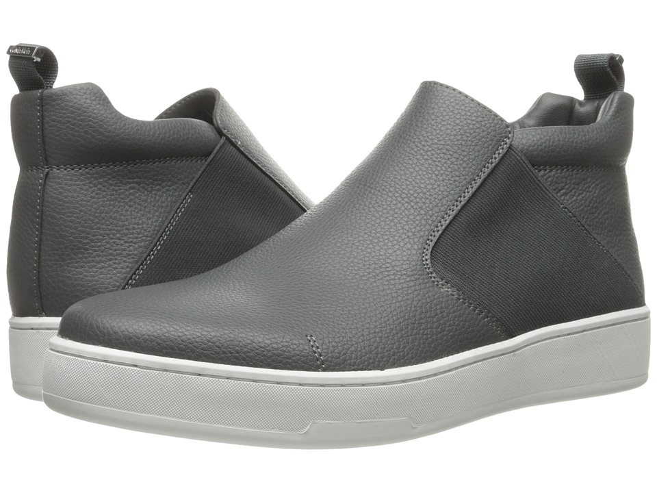 Calvin Klein - Noble (Grey Tumbled Leather) Men's Shoes