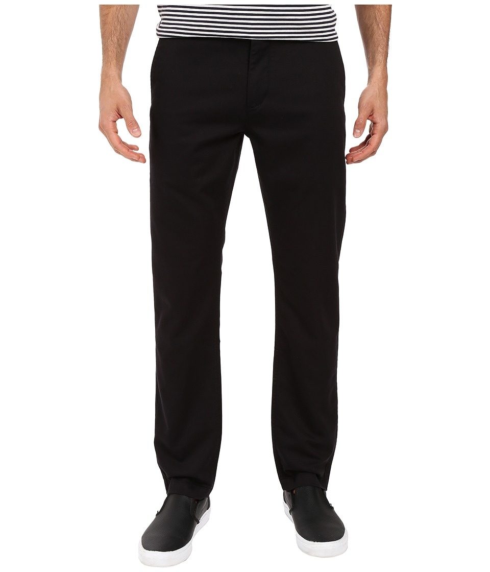 Dockers Men's - Washed Khaki Slim Tapered (Black) Men's Casual Pants