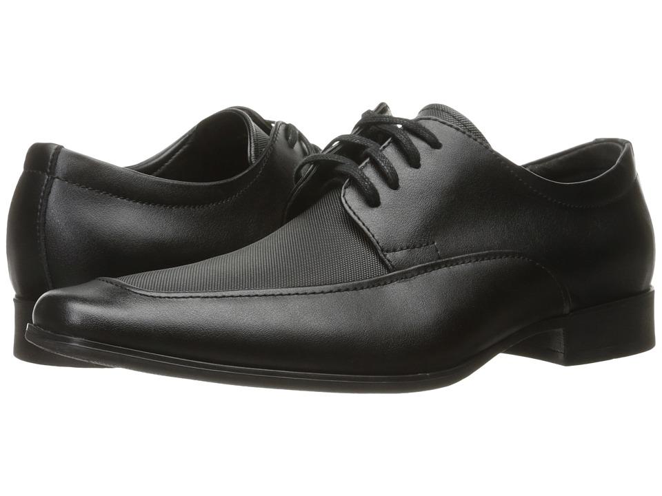 Calvin Klein Benji (Black Emboss Soft Leather) Men