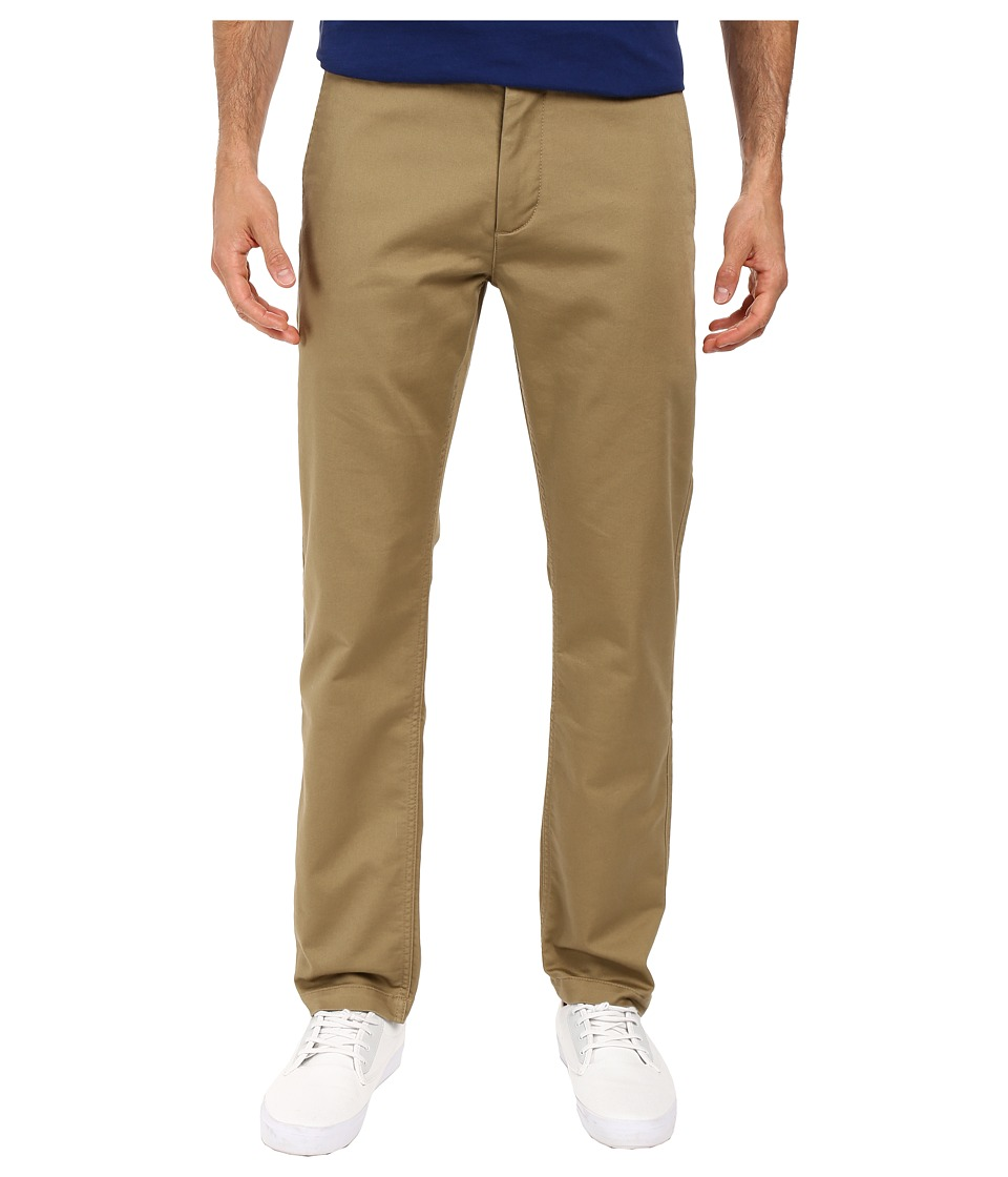 Dockers Men's - Washed Khaki Slim Tapered (New British Khaki 1) Men's Casual Pants