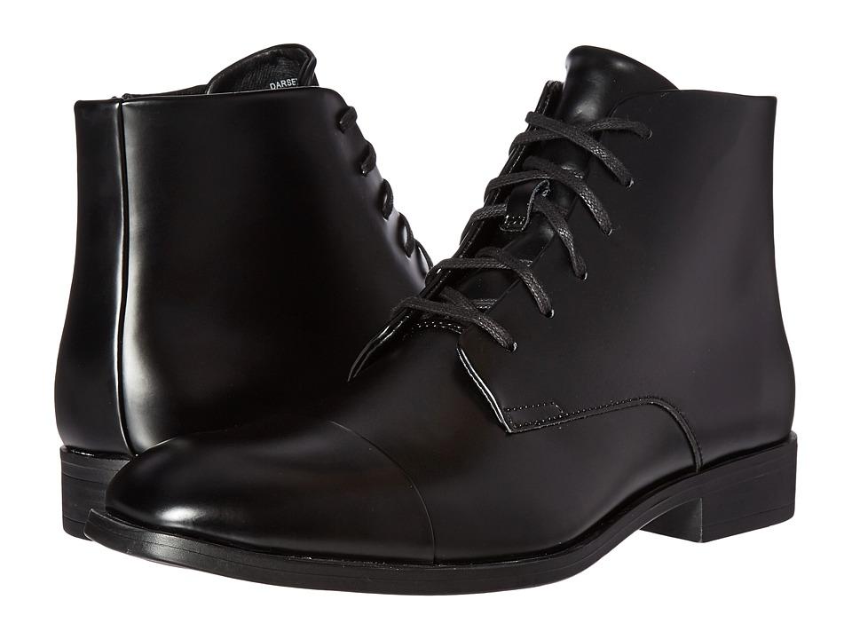 Calvin Klein - Darsey (Black Box Leather) Men's Boots