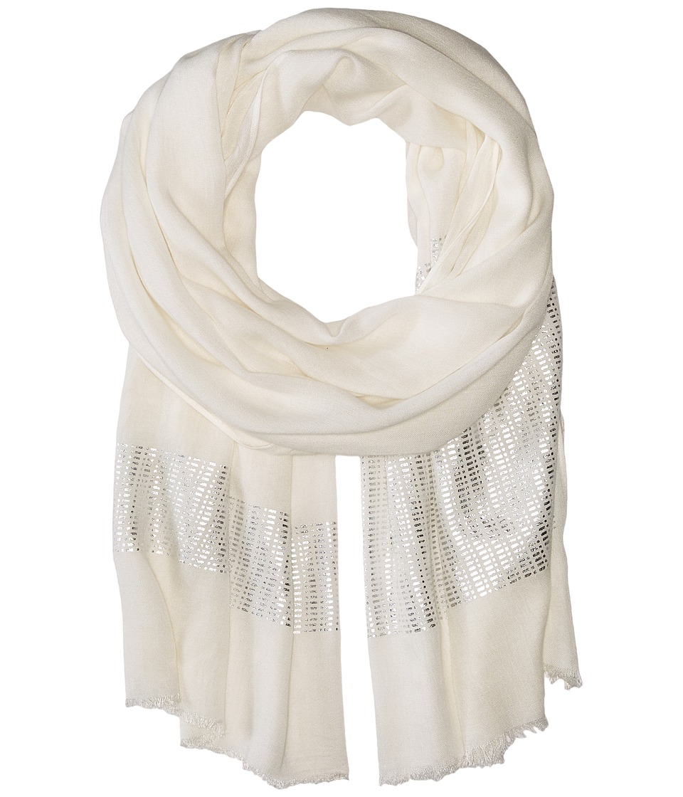 Echo Design - Circuit Board Wrap (Cream) Scarves