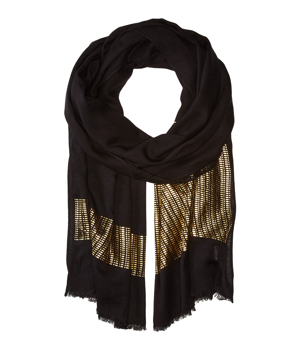 Echo Design - Circuit Board Wrap (Black) Scarves