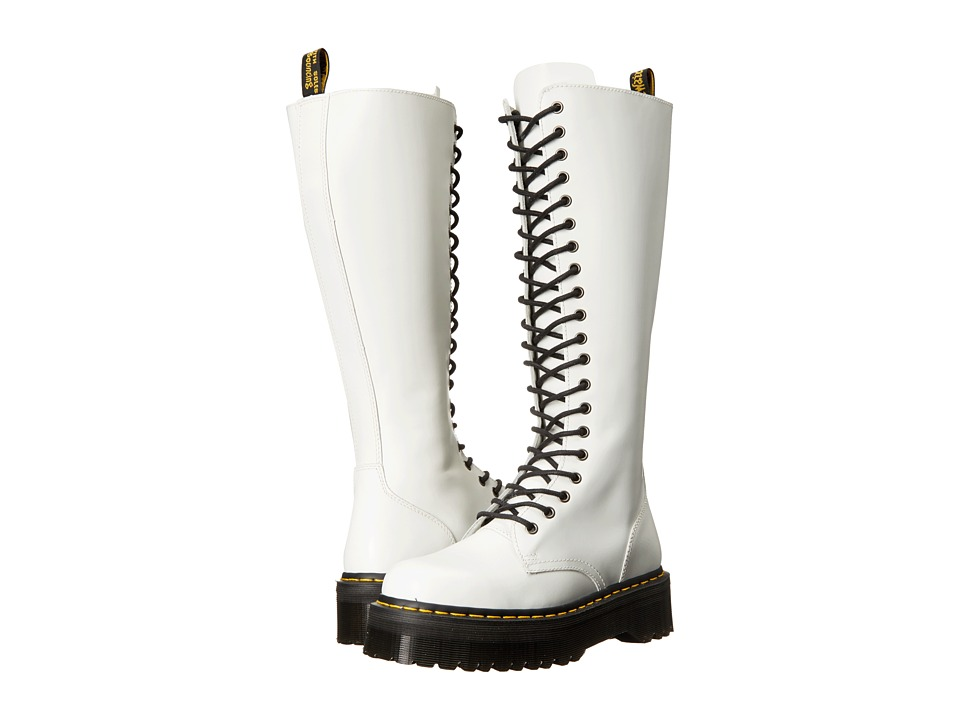 Dr. Martens - Britain (White) Women's Boots