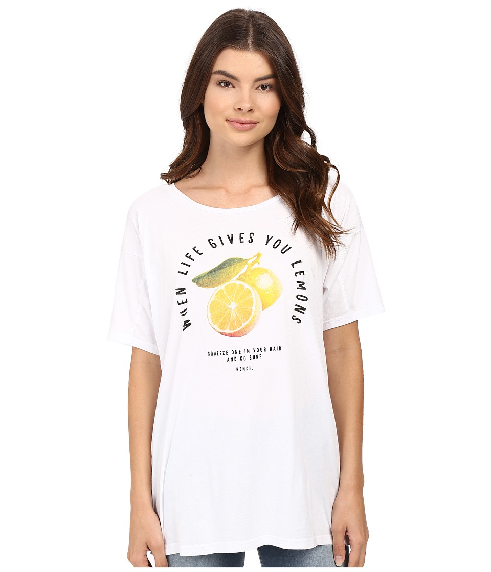 Bench - Pinetrees Top (Bright White) Women's Clothing
