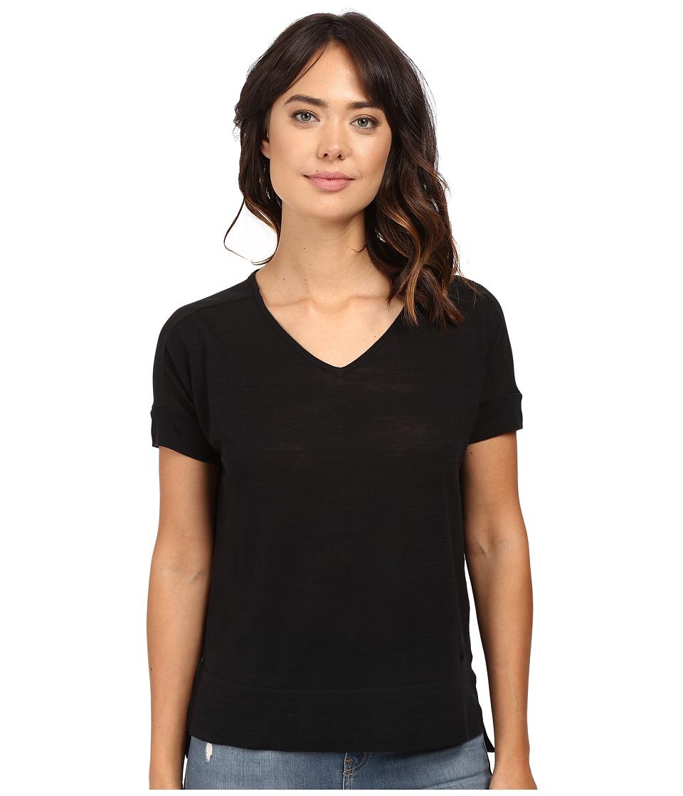 Bench - Lanorda Knit Top (Jet Black) Women's Clothing