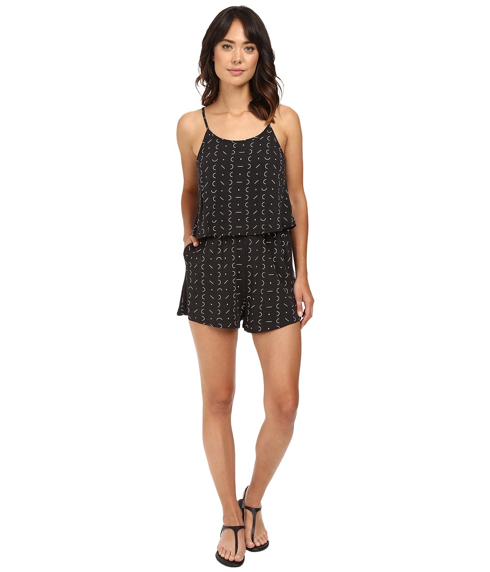 Bench - The Superbank C Romper (Jet Black) Women's Jumpsuit & Rompers One Piece