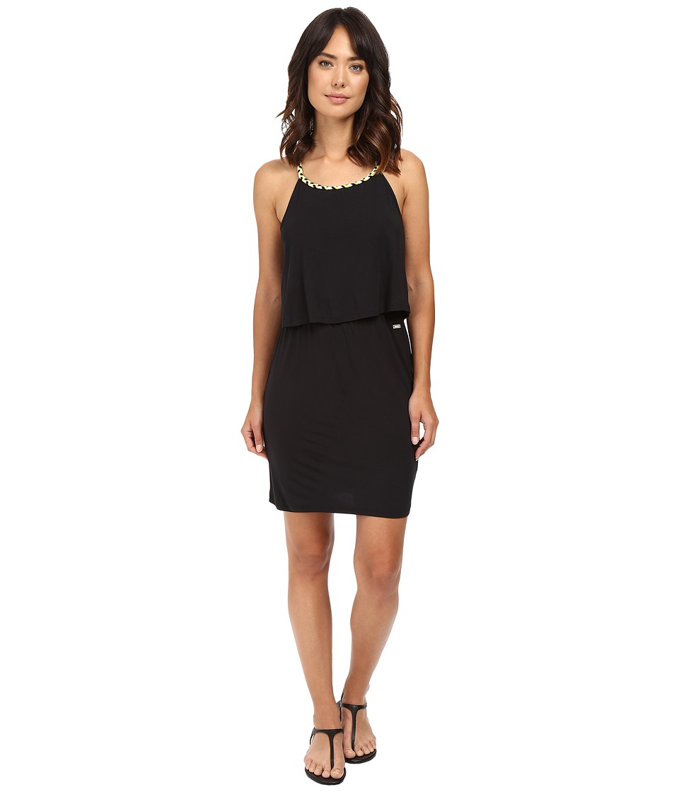 Bench - Anzaccove Dress (Jet Black) Women's Dress