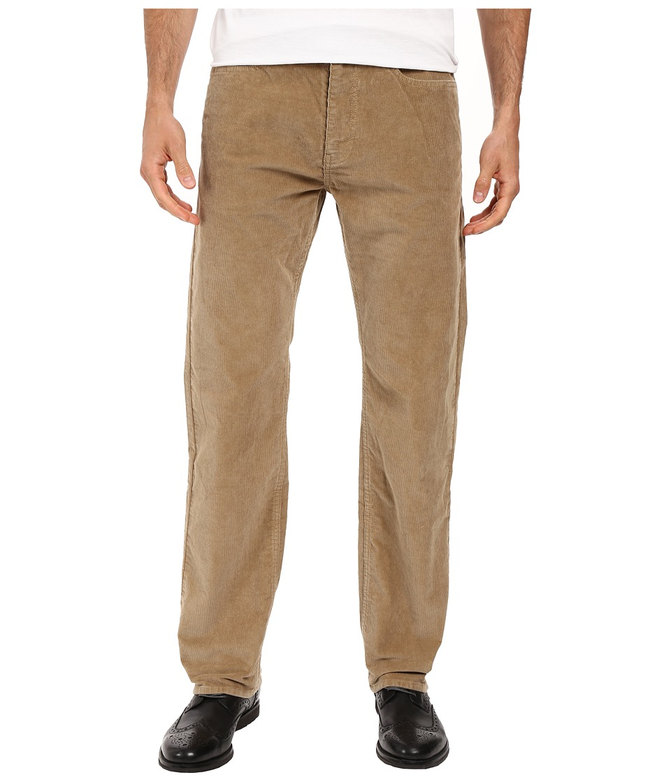 Dockers Men's - Corduroy Five-Pocket Straight (New British Khaki) Men's Casual Pants