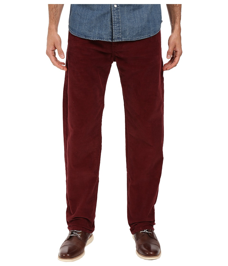 Dockers Men's - Corduroy Five-Pocket Straight (Dark Russet) Men's Casual Pants