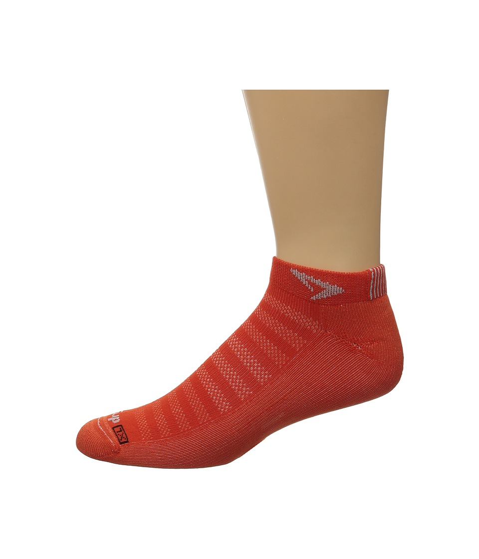 Drymax Sport - Running Lite Mesh Mini Crew 3-Pack (Sunburst Orange) Low Cut Socks Shoes