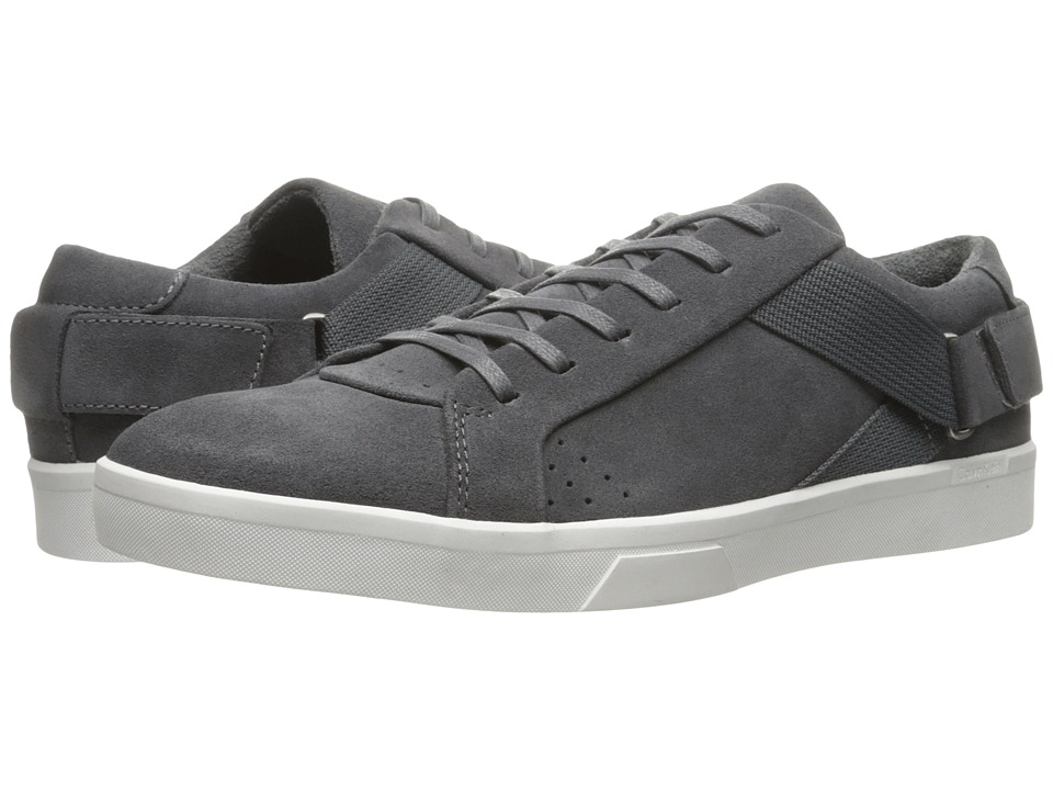 Calvin Klein Italo (Grey Oily Suede) Men