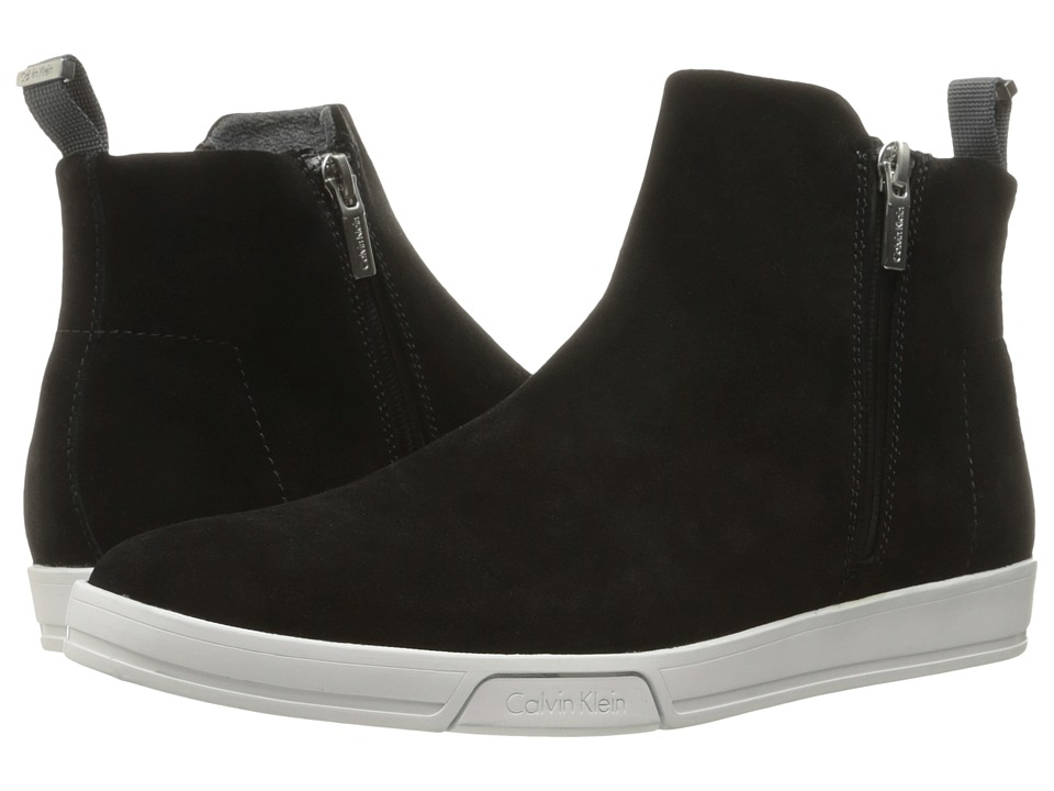 Calvin Klein Barkley (Black Oily Suede) Men