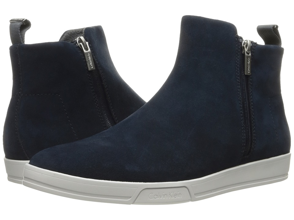Calvin Klein Barkley (Dark Navy Oily Suede) Men
