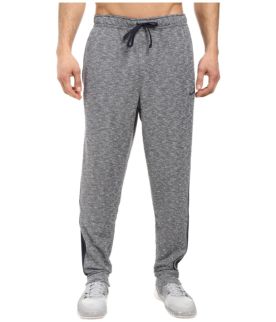 Nike - Dri-FIT French Terry Drawstring Pant (Obsidian/Obsidian/Obsidian) Men's Casual Pants