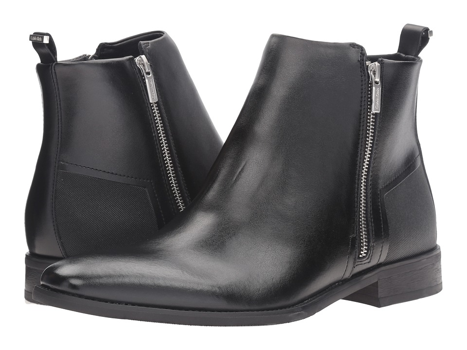 Calvin Klein Raxton (Black Leather) Men
