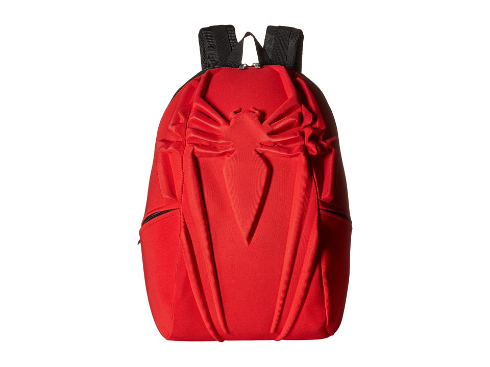 MadPax Spiderman Backpack (Red) Backpack Bags