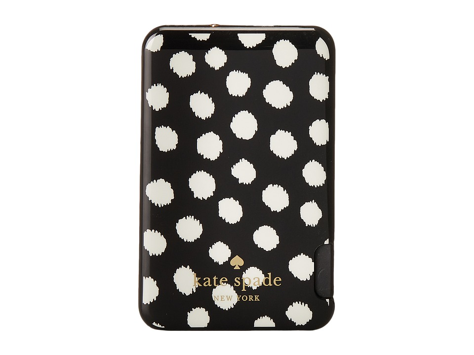 Kate Spade New York - Spot Slim Battery Bank (Black/Cream) Cell Phone Case