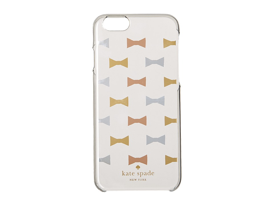 Kate Spade New York - Bow Tile Phone Case for iPhone 6 (Clear Multi) Cell Phone Case