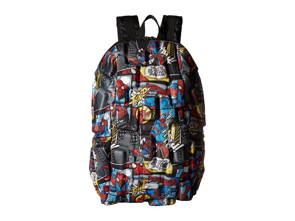 MadPax Spiderman All Over Print Backpack (Multi) Backpack Bags