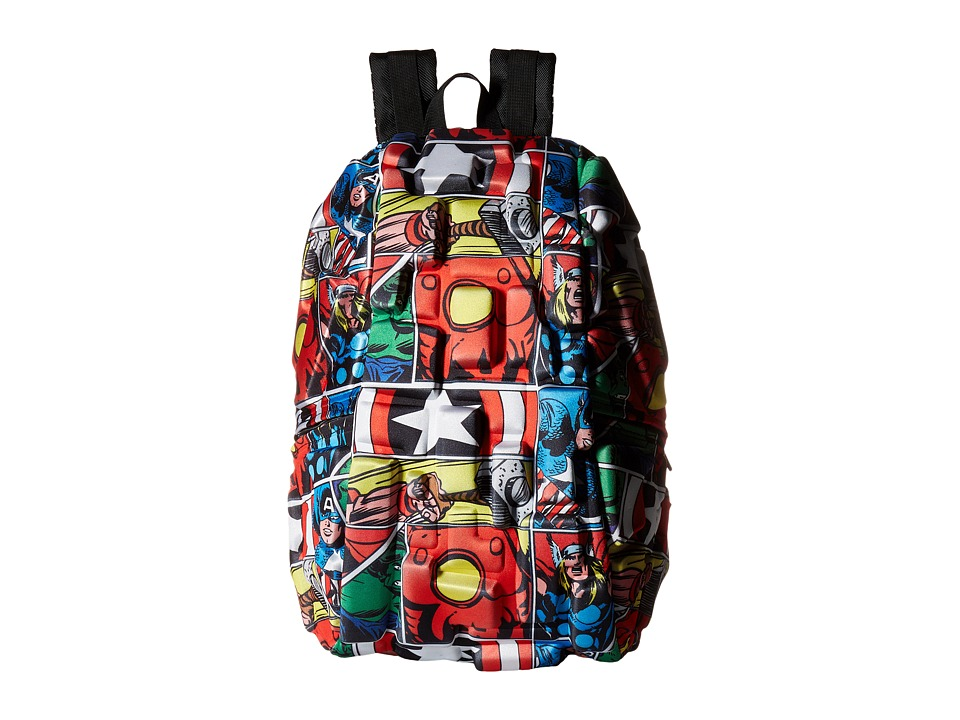 MadPax Avengers Backpack (Multi) Backpack Bags