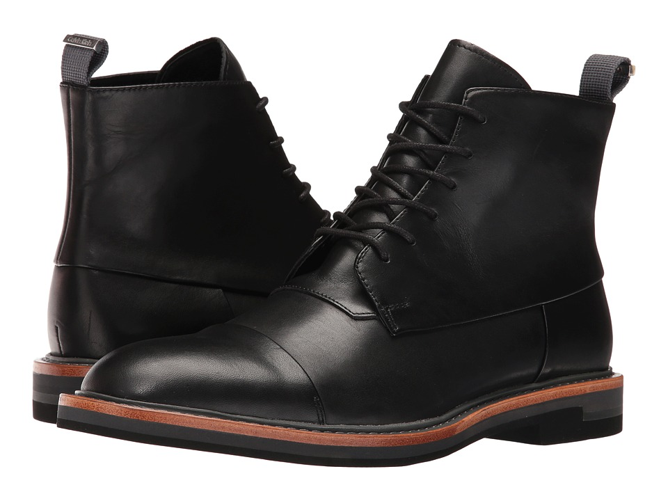 Calvin Klein Jabin (Black Calf Leather) Men