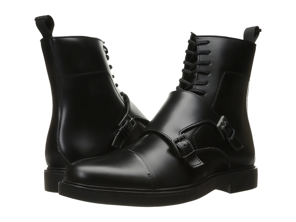 Calvin Klein - Davis (Black Matte Box) Men's Boots