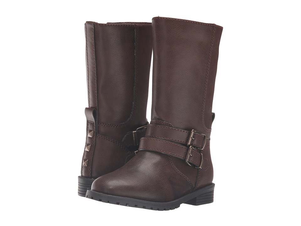 Nina Kids - Bijou (Toddler/Little Kid/Big Kid) (Brown Tumbled) Girls Shoes