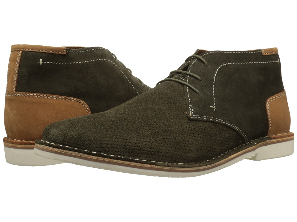 Steve Madden - Hendric (Green Suede) Men's Shoes