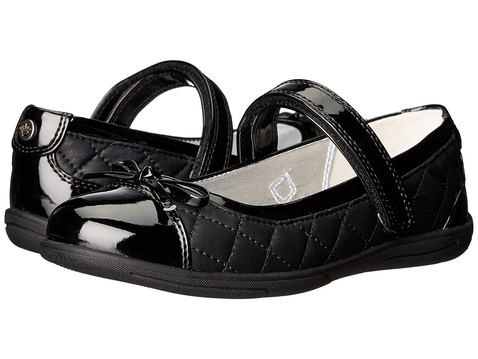 Nina Kids - Andi (Toddler/Little Kid/Big Kid) (Black Patent) Girls Shoes