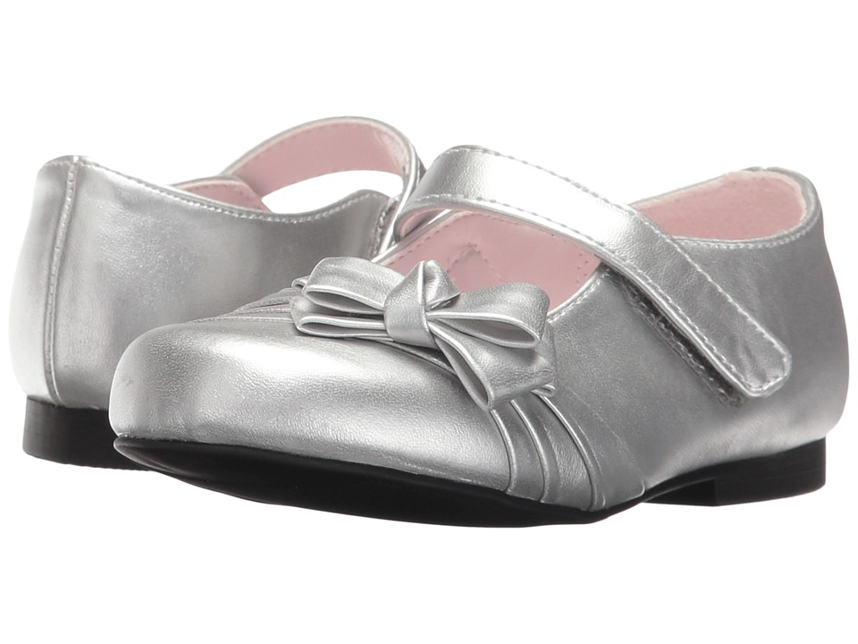 Nina Kids - Maxie (Toddler/Little Kid) (Silver Metallic) Girls Shoes
