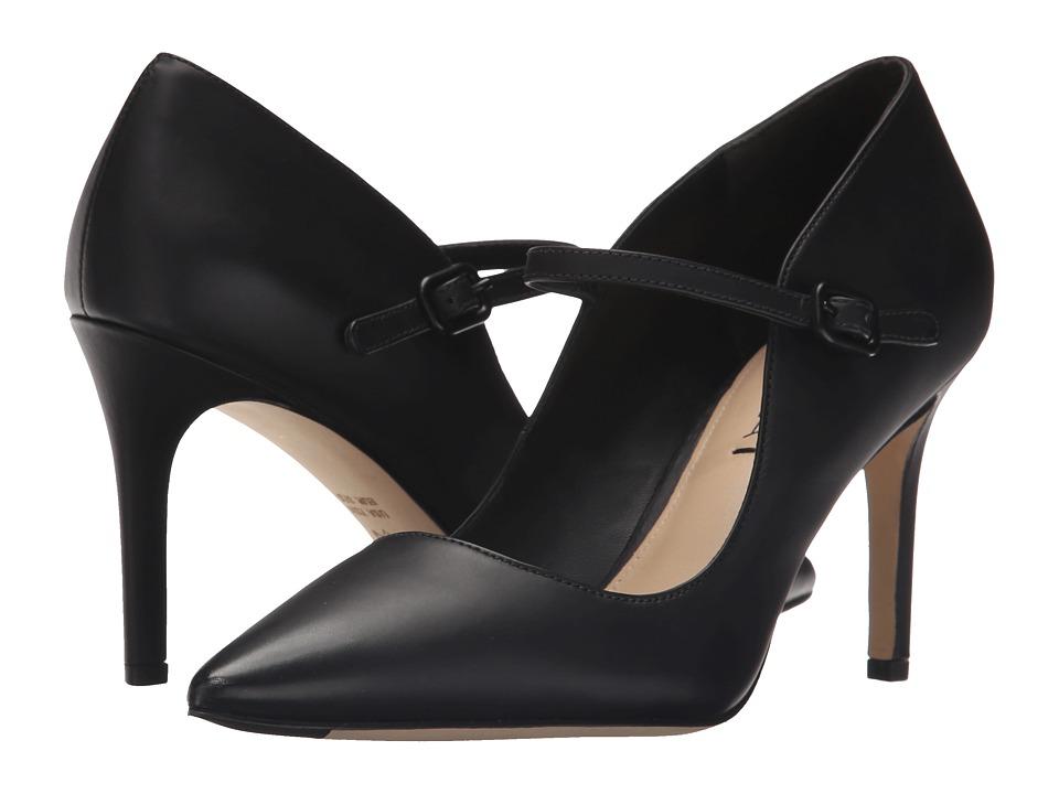 Via Spiga Camilla (Black Baby Dull Leather) High Heels