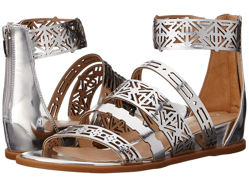 Via Spiga Emilia (Silver Liquid Metallic Leather) Women