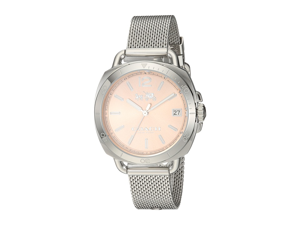 COACH - Tatum 34mm Mesh Bracelet (Stainless Steel) Watches